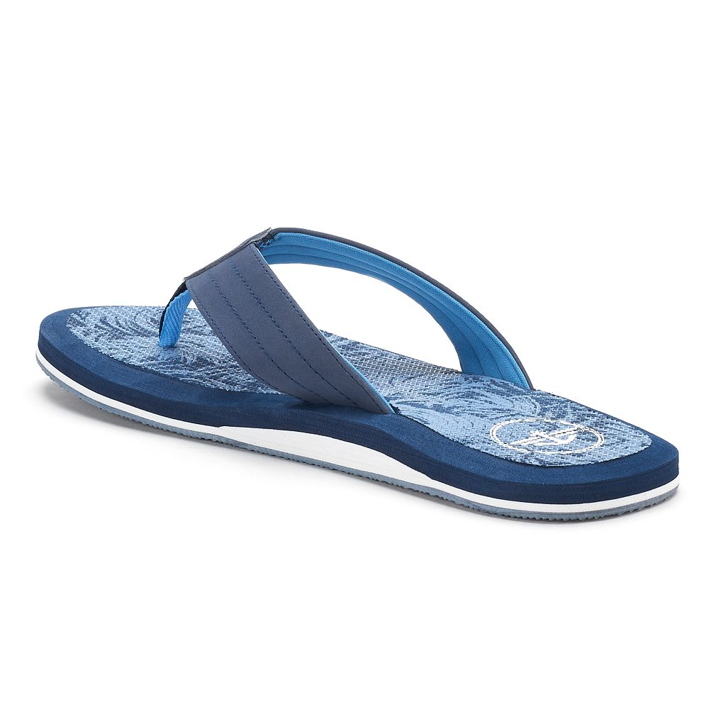 Men's Dockers Palm Tree Flip-Flop Sandals