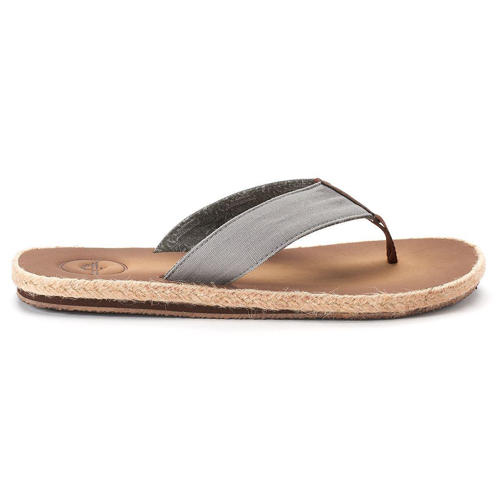 Men's Dockers Espadrille Flip-Flop Sandals