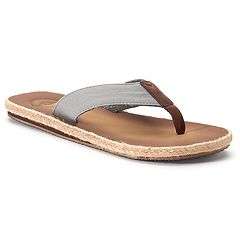 Men's Dockers Espadrille Flip-Flop Sandals