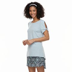 Women's ZeroXposur Twisted-Sleeve Scoopneck Tee