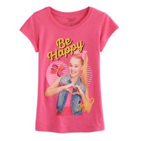 """Girls 7-16 JoJo Siwa """"Be Happy"""" Graphic Tee"""