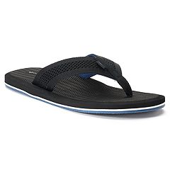 Men's Dockers Mesh Upper Flip-Flop Sandals