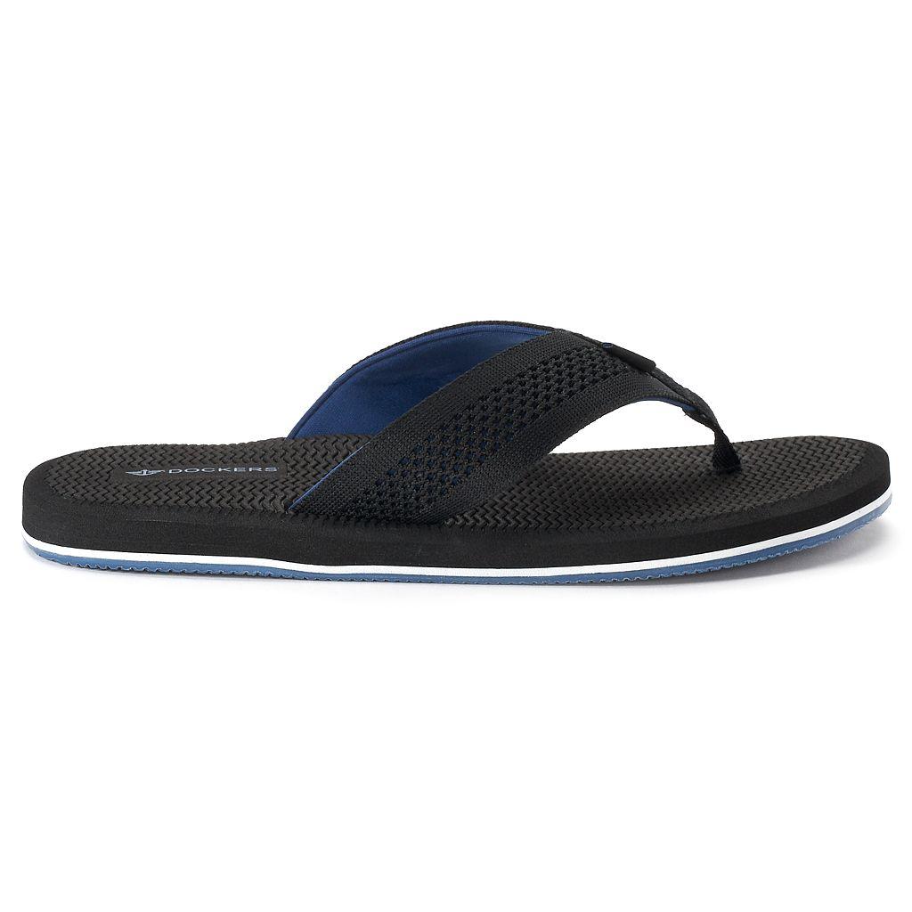 Men's Dockers Mesh Upper Flip-Flop Sandals
