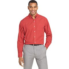 Men's Van Heusen Wrinkle-Free Classic-Fit Button-Down Shirt