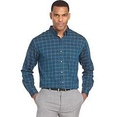 Men's Van Heusen Wrinkle-Free Classic-Fit Button-Down Shirt