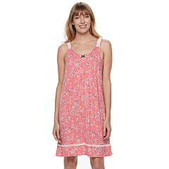 Women's Croft & Barrow® Pajamas: Sleeveless V-Neck Nightgown