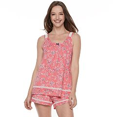 Women's Croft & Barrow® Pajamas: Tank & Shorts 2-Piece PJ Set