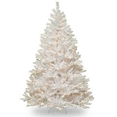 National Tree Company 6.5-ft. Pre-Lit Winchester White Pine Artificial Christmas Tree