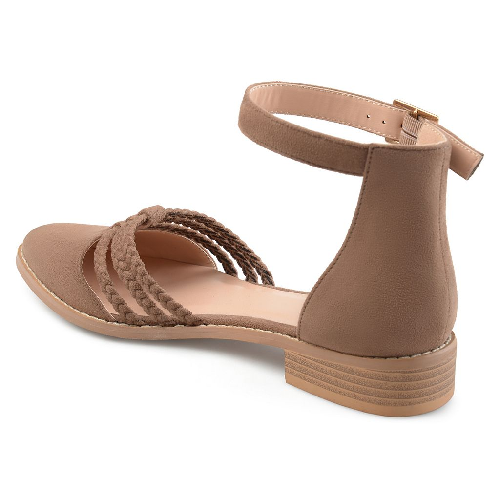 Journee Collection Anistn Women's Ankle Wrap Flats