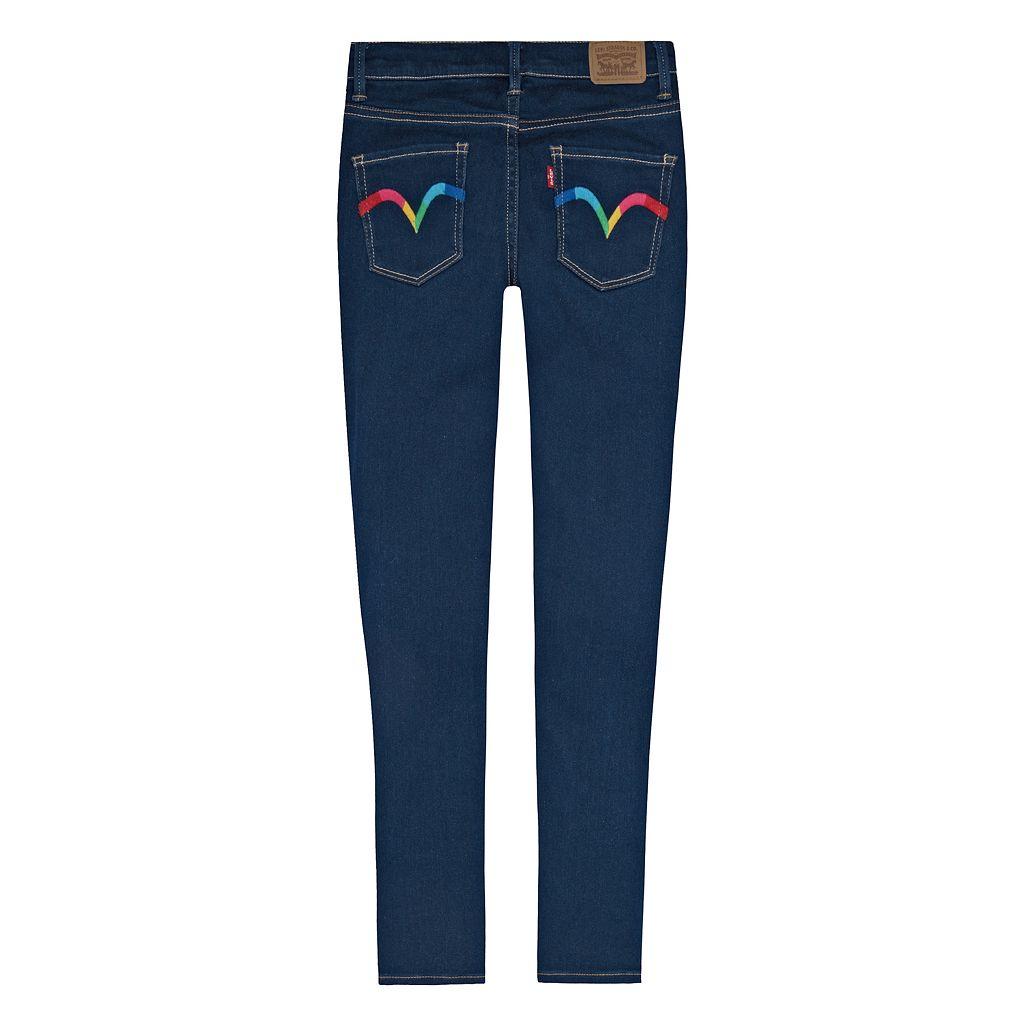 Girls 7-16 Levi's 710 Zipper Ankle Super Skinny Jeans