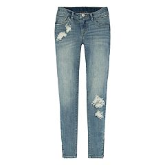 Girls 7-16 Levi's 710 Zipper Ankle Super Skinny Jeans