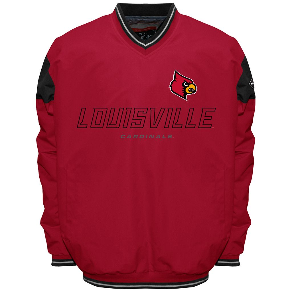 Men's Louisville Cardinals Rush Windshell Top