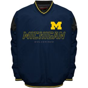 Men's Michigan Wolverines Rush Windshell Top