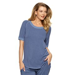 Women's Jezebel Jamie Scoopneck Raglan Sleep Tee