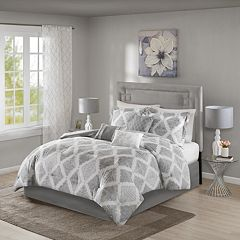 04206f18306e Madison Park Caledon 7-piece Comforter Set. Gray Gold
