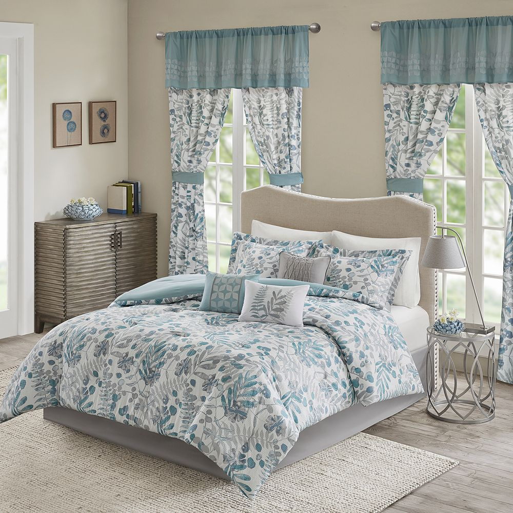 c538c7b176 Madison Park Lyla 7-piece Comforter Set