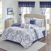 Madison Park Lyla 7-piece Comforter Set Queen Deals