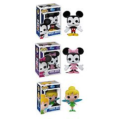 Funko POP! Classic Disney Mickey Mouse, Minnie Mouse & Tinker Bell Disney Vinyl Collectors Set