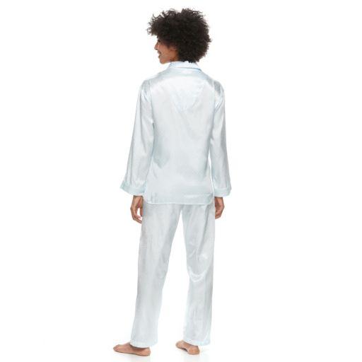 Women's Miss Elaine Essentials Brushed Satin Pajamas