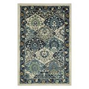 Maples Mavis Framed Floral Rug
