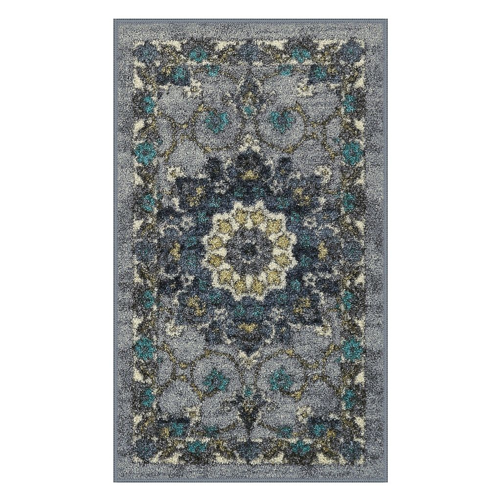Maples Edith Framed Floral Rug