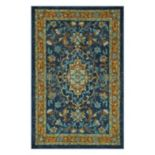 Maples Lavinia Framed Floral Rug