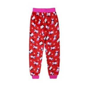 Girls 4-16 Jellifish Holiday Fleece Pajama Pants