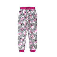 Girls 4-16 Jellifish Holiday Fleece Pajama Pants