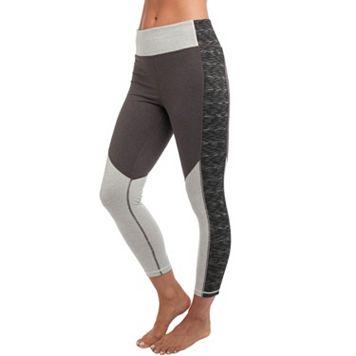 Women's Spalding Soho Color Block Yoga Ankle Leggings