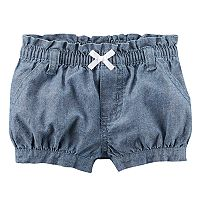 Baby Girl Carter's Chambray Bubble Shorts