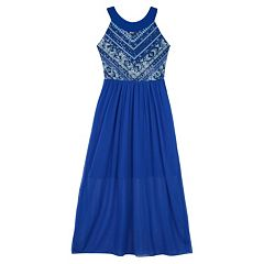 Girls 7-16 IZ Amy Byer Sleeveless Sequined Bodice Maxi Dress