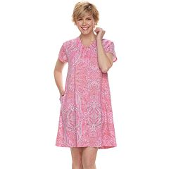 Women's Miss Elaine Essentials Paisley Robe