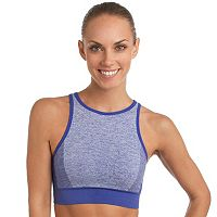 Spalding Bras: Seamless High-Neck Medium-Impact Sports Bra 8148-00