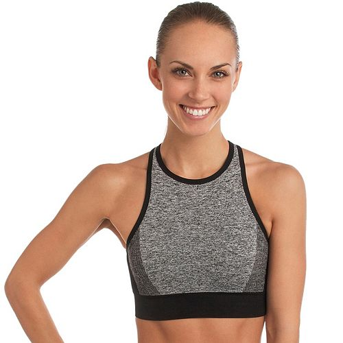 5d89213225 Spalding Bras  Seamless High-Neck Medium-Impact Sports Bra 8148-00