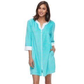 Women's Croft & Barrow® Pajamas: Honey Knit Duster Robe