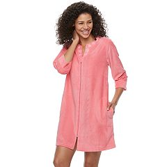 Women's Croft & Barrow® Pajamas: Honey Knit Duster Robe