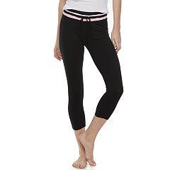 Juniors' SO® Crop Drawcord Yoga Leggings