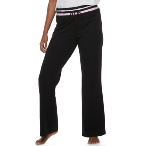 Juniors' Plus Size SO® Drawstring Bootcut Yoga Pants