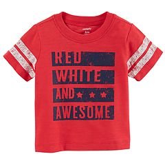 Baby Boy Carter's 'Red, White And Awesome' Graphic Tee