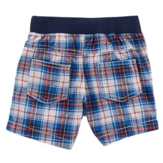 Baby Boy Carter's Plaid Pull-On Shorts