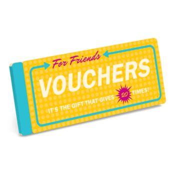 """Knock Knock """"Vouchers For Friends"""" 20-piece Coupon Set"""