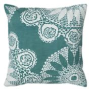 Rizzy Home Medallion Print Throw Pillow