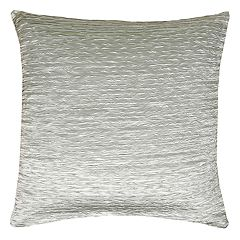 Rizzy Home Gathered Side Throw Pillow