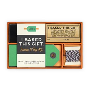 "Knock Knock ""I Baked This Gift"" Stamp Kit 19-piece Set"