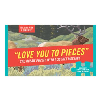 "Knock Knock ""Love You To Pieces"" 64-piece Puzzle"