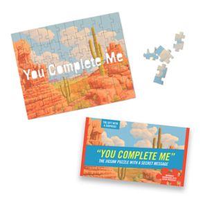 "Knock Knock ""You Complete Me"" 72-piece Puzzle"