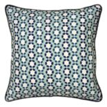 Laura Fair By Rizzy Home Cord Stripe Throw Pillow
