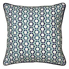 Laura Fair By Rizzy Home Cord Stripe Throw Pillow