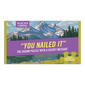 """Knock Knock """"You Nailed It"""" 72-piece Puzzle"""