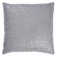 Rizzy Home Solid Beaded Throw Pillow